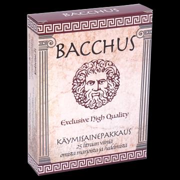 BACCHUS Käymisainepakkaus