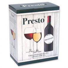 PRESTO Cabinet Blanc -valkoviiniaines 22L