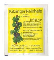 Viinihiiva Bordeaux 5 g  Kitzinger