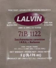 Lalvin 71B-1122 viinihiiva 5g (2kpl) BBE 11.2019