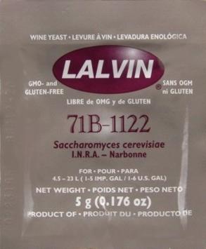 Lalvin 71B-1122 viinihiiva 5g