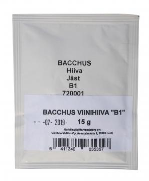 BACCHUS Viinihiiva (B1) 15 g