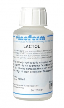 Maitohappo Vinoferm Lactol 80 % 100 ml