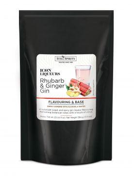 ICON Rhubarb & Ginger Gin -liköörimauste