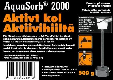AQUASORB 2000, aktiivihiili 500 g