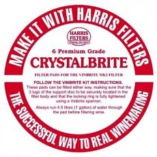 Crystalbrite suodatinlevyt 6 kpl