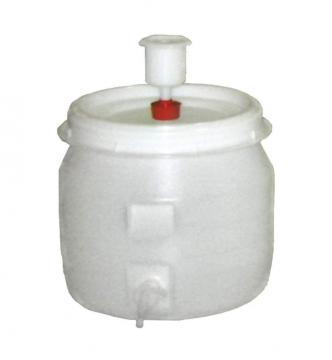 Käymistynnyri hanalla 30 L muovia. sis. vesilukon