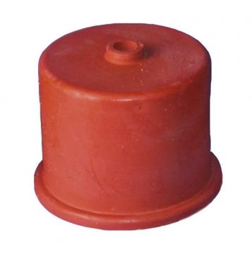 Kumikorkki nr 4, 40 mm, 9 mm reikä