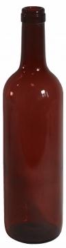 PRESTO Viinipullo ruskea 0,75 l 12 kpl