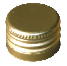 Kierrekorkki kulta 31,5 x 24 mm 10 kpl
