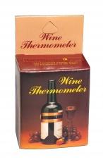 Lämpömittari viinipullolle, kuparivyöte