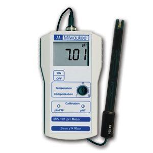 Digitaalinen pH-mittari 0,01 tarkkuudella MW101