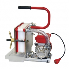 Levysuodatin 2020 RST + pumppu, 6 suodatinlevyä