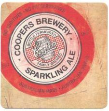Coopers Sparkling Ale Lasinalunen