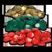 Kruunukorkit 29 mm 50 kpl kuohuviinipulloille