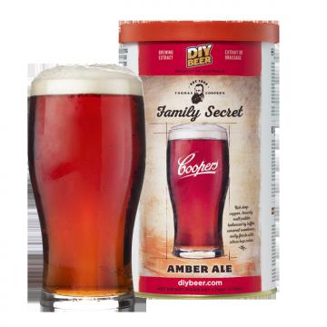 COOPERS TC Family Secret Amber Ale 1.7kg