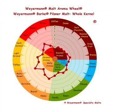 BARKE® Pilsner 2,5-4,5 EBC 1kg Weyermann